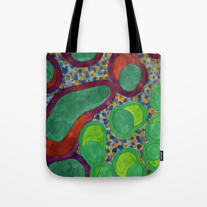 Filled Spicy Vegetables Tote Bag