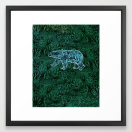 Polar Opposite Framed Art Print