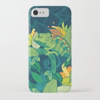 chameleon iPhone & iPod Cases featuring Chameleon by Arcturus