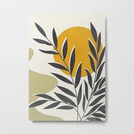 Plant Design 01 Metal Print