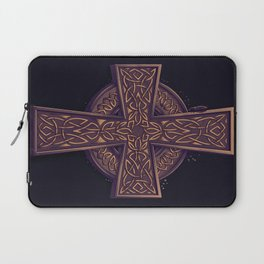 Celtic Cross Laptop Sleeve
