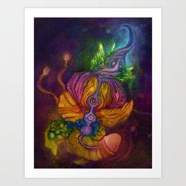Nebula's Fin Art Print