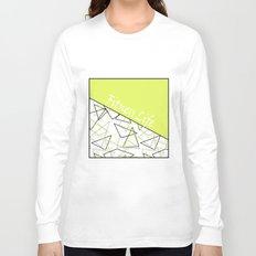 The fitness club . Sport . Lemon white creative sport pattern . Long Sleeve T-shirt