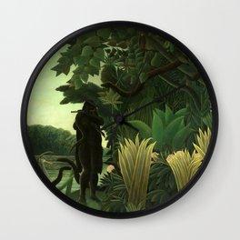 "Henri Rousseau ""The Snake Charmer"" Wall Clock"