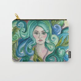Mermaid Pearls Carry-All Pouch