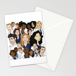 Grey's Anatomy Stationery Cards