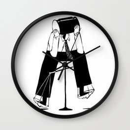 Lawyer Dilemma Wall Clock