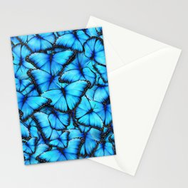 Peace of the Blue Butterfly Stationery Cards