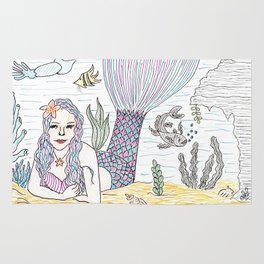 Mermaid! Rug