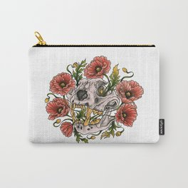 Skull and poppys Carry-All Pouch