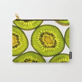 KiwiFruit slices Carry-All Pouch