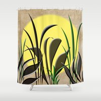serenity Shower Curtains featuring Serenity by Judith Lee Folde Photography & Art