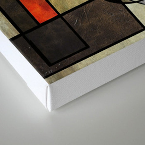 Falling Industrial Canvas Print