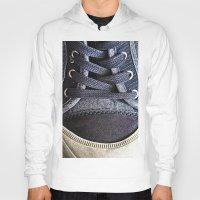 shoe Hoodies featuring Shoe by Fine2art