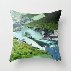 Experiment am Berg 20 Throw Pillow