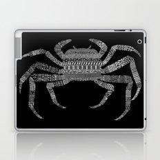 Crab (On Black) Laptop & iPad Skin