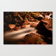 Long Exposure Waterfall  Canvas Print