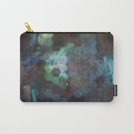Nebula Hexagons Carry-All Pouch