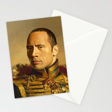 Dwayne (The Rock) Johnson - replaceface Stationery Cards
