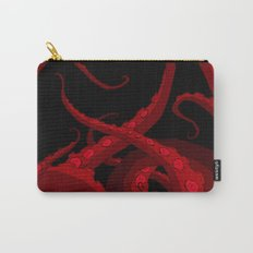 Subterranean Red Carry-All Pouch