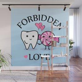 Forbidden Love Wall Mural