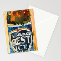 Milwaukee Best Ice Beer  - Miller Ice Stationery Cards