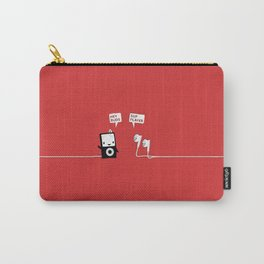 Ipod mp3 friends Carry-All Pouch