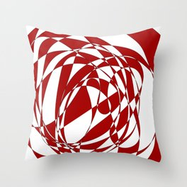 Abstract doodle Throw Pillow