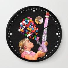 Bong for Kids Wall Clock