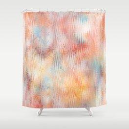 Desert Watercolor Shower Curtain