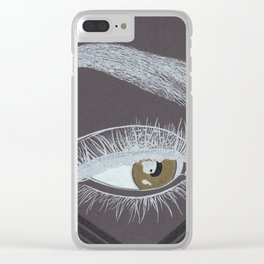Lashes Clear iPhone Case