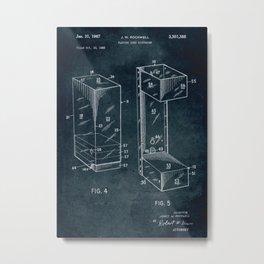 1965 - Playing card dispenser Metal Print