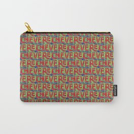 Typographic Graffiti Pattern Carry-All Pouch