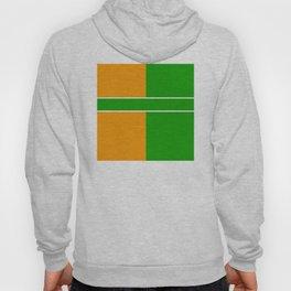 Team Color 6...green,orange Hoody