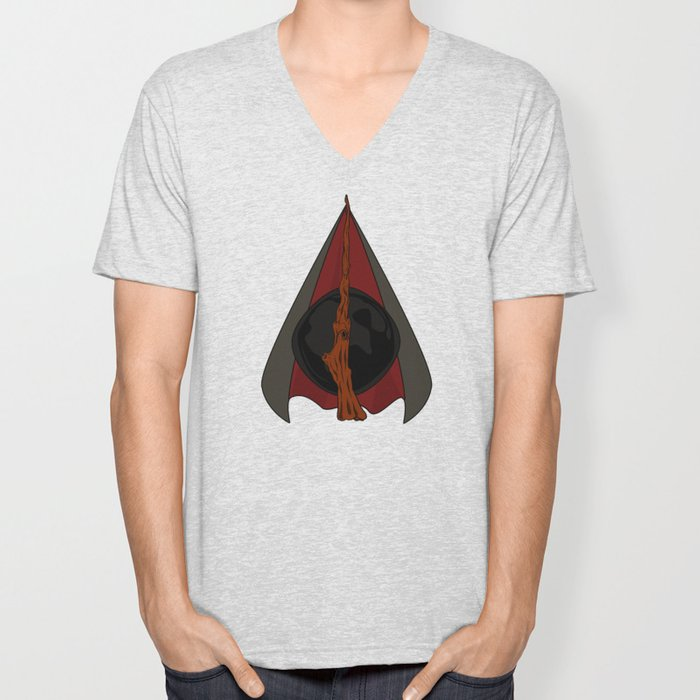 Deathly Hallows Unisex V-Neck