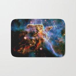 GAlAxY : Mystic Mountain Nebula Bath Mat