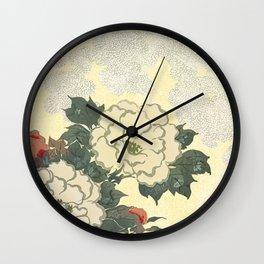 A Japanese summer Wall Clock