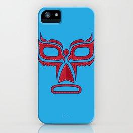 Luchador Mask Good Guy iPhone Case