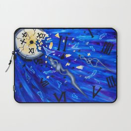 Shattered Time Laptop Sleeve