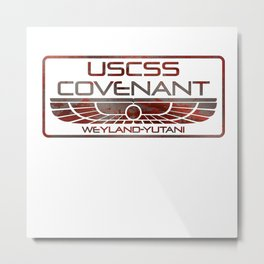 Covenant Oxide Metal Print