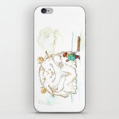 A Friendly Snow Monster iPhone & iPod Skin