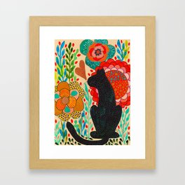 Sometimes My Love Is A Wild Thing Framed Art Print