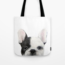 French Bulldog Dog illustration original painting print Tote Bag