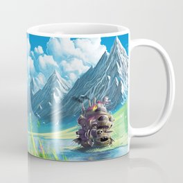 Howls Moving Castle Coffee Mug