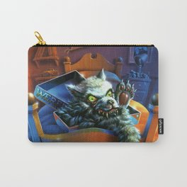 Werewolf Skin Carry-All Pouch