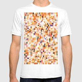 colored bricks T-shirt