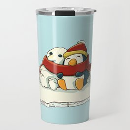 Penguin snowfriends Travel Mug
