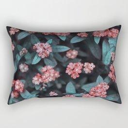 Berry-like floral Rectangular Pillow