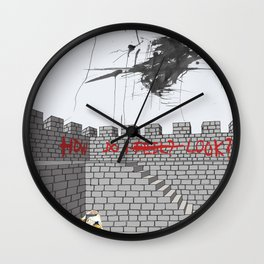 Fort Of Essentials Wall Clock