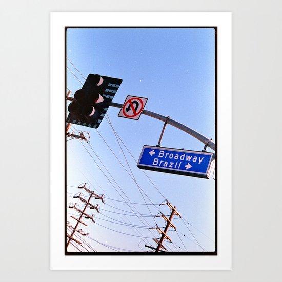 chances (35mm ) Art Print